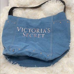 Like new Victoria's Secret Jean tote